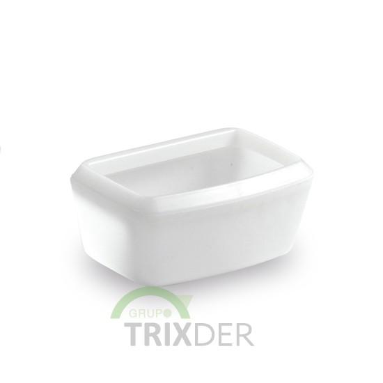 Bebedero pequeño transportines LUXE, 12x8x5.4 cm